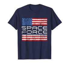 Dad Shirts - Space Force flag - 4th July funny T-Shirt Men - $19.95+