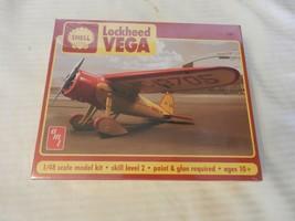 AMT Shell Lockheed Vega Airplane 1/48 Scale Model Kit #amt950/12 BNIB - $29.70