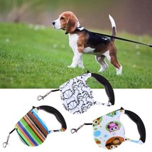 Retractable Dog Lead Leash Pet Rope Walking Automatic Traction Puppy Cat... - $11.59