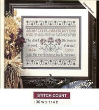 THE LORD IS GOOD  - X  STITCH PATTERN ONLY -   HM - WUA - $6.39