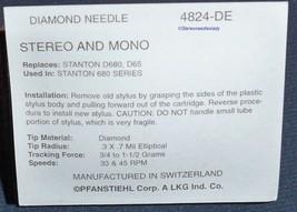 NEW NEEDLE STYLUS FOR Stanton 680EL D680 D65 D6800SL D800AL 824-DE 4824-DE image 2