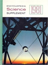 Encyclopedia Science Supplement: 1981 (used hardcover) - $15.00