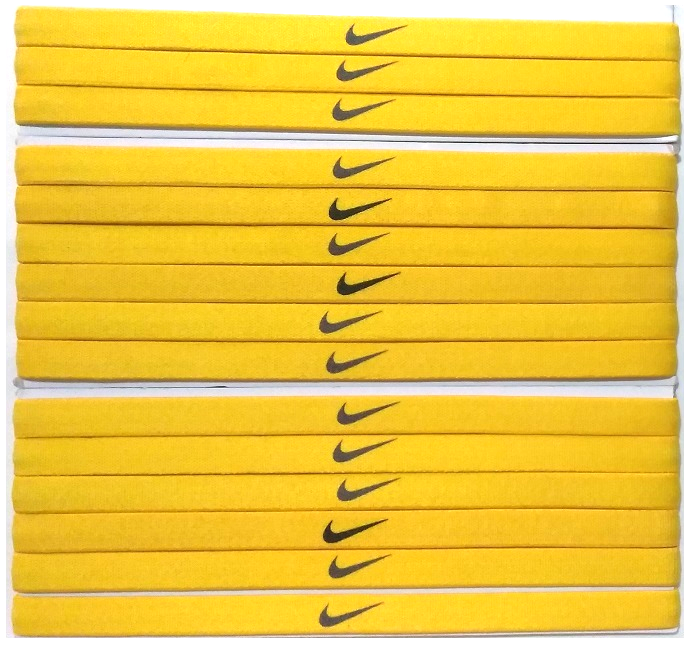 Primary image for Nike Unisex Running All Sports YELLOW Sports Design Headband New