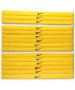 Nike Unisex Running All Sports YELLOW Sports Design Headband New - $6.50