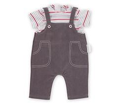 "Corolle 14"" Smock & Denim Overall Baby Doll - $36.30"