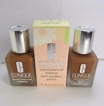 2pc Lot CLINIQUE 18 Clove Superbalanced Makeup Foundation 2.0 oz - $38.99