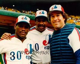 MLB 1980's Montreal Expos HOFers Raines Dawson & Carter Color 8 X 10 Pho... - $5.93