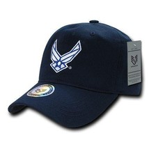 United States Air Force Usaf Officially Licensed Blue Relaxed Fit Baseball Cap - $30.99