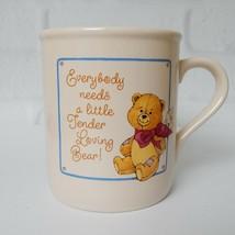 Vintage Hallmark 1984 Coffee Tea Mug Cup Little Tender Loving Bear 8 OZ - $15.99