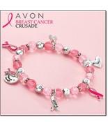 Avon Breast Cancer stretch bracelet - $11.99