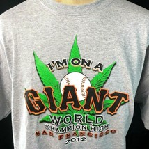 SF Giants 2012 World Champion High 420 2XL T-Shirt XXL Mens San Francisc... - $28.88