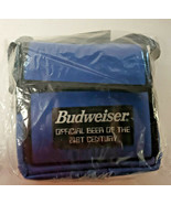 VINTAGE ANHEUSER BUSCH Budweiser 21st Century Bag Holds CD's New in Pack... - $22.99