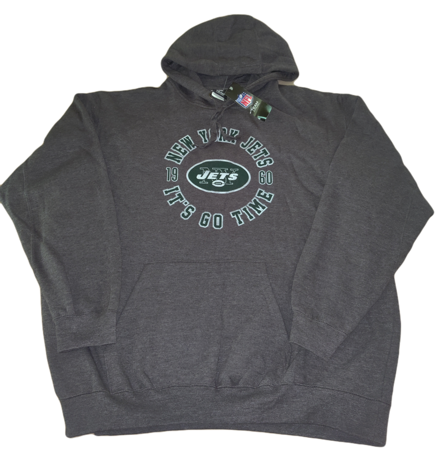 Primary image for NWT New York Jets Team NFL Team Apparel Long Sleeve Sweatshirt Est 1960 Size 2XL