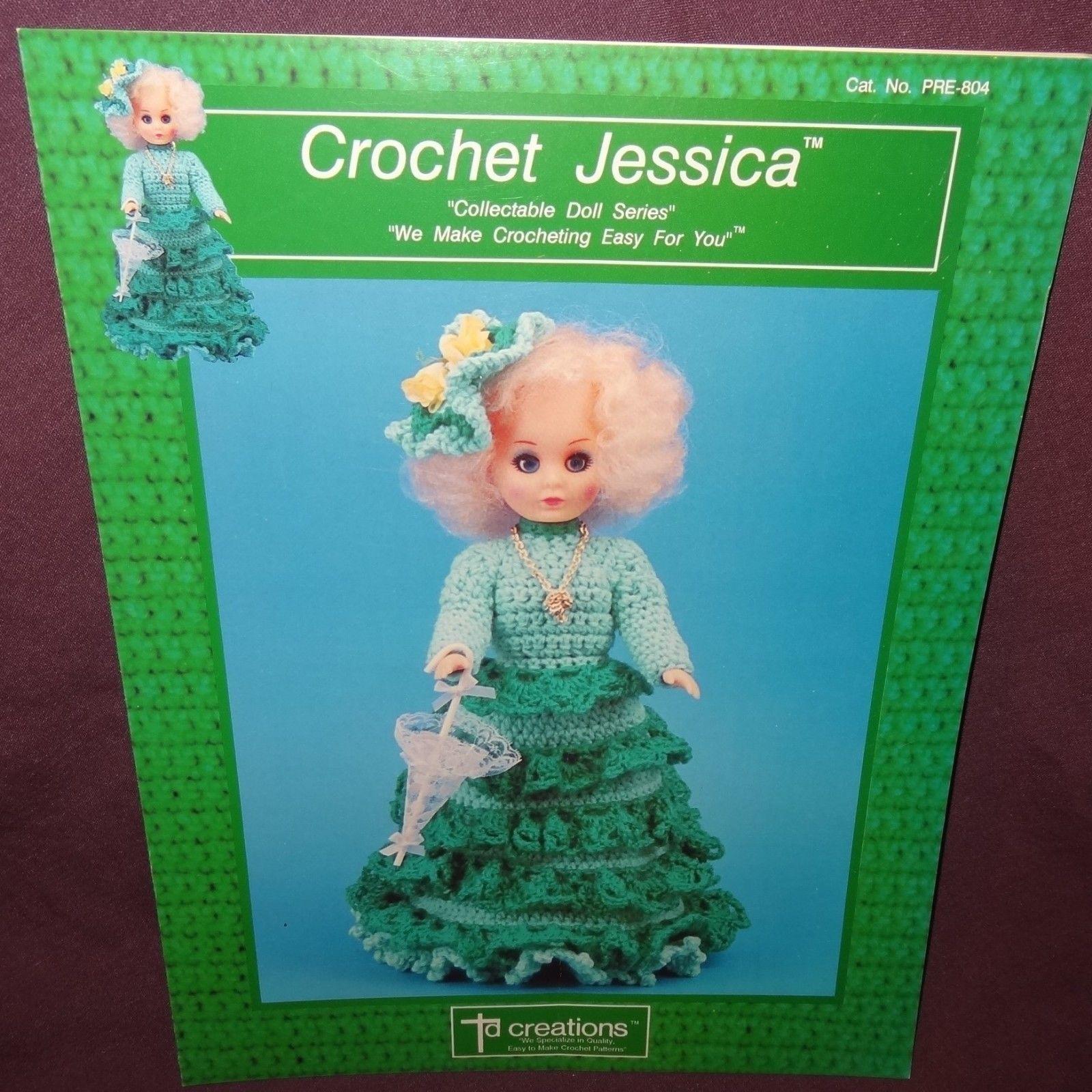 Crochet Collector/'s pattern leaflet Fashion Doll Shorts Set ~ fits Barbie dolls