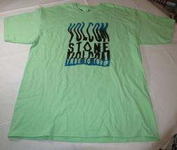 Uomo Volcom T-Shirt Maniche Corte Surf Skate XL Verde Menta Oceano Motion S/S - $20.13