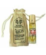 Natural Hanky Perfume Attar oil Sandalwood Fragrance 10 ml Made in india FS - $7.84