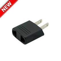 EU Europe European to USA US American Wall plug Adapter Outlet Converter... - $4.95+