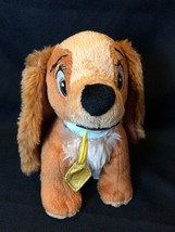 Disney Lady And The Tramp Plush LADY 6 inch Dog Animal Figure Toy Tush Tag - $17.75