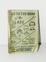 Vintage 1939 Go To The Head Of The Class-Milton Bradley/Second Series - $19.31