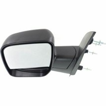 DRIVER SIDE NON HEATED MANUAL MIRROR FO1320253 FOR 03 04 FORD ECONOLINE VAN image 2