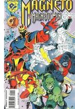 Magneto & the Magnetic Men #1 - April 1996  Amalgam / Marvel Comics 7596... - $1.19