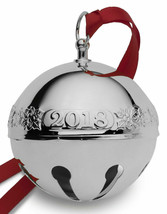 2018 Wallace Annual Silverplate Sleigh Bell Ornament 48th Edition #8226 - $65.00