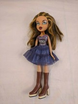 Bratz Yasmin Doll w/ Glitter Top, Purple Skirt, Boots Played with condition - $6.00