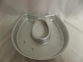 WILTON 502-3258 LUCKY HORSESHOE CAKE PAN  - $18.50