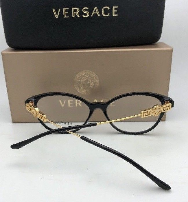 d81fa7771f27 New VERSACE Eyeglasses 3226-B 108 51-18 Gold and 13 similar items
