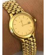 Excellent Zenith Cal.29.5 Quartz Gold Plated Swiss Made Ladie`s Wristwatch - $232.22