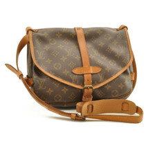 LOUIS VUITTON Monogram Saumur 30 Shoulder Bag M42256 LV Auth rd126 - $330.00
