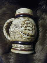 Avon Collection Cup 1982 Mug Nautical Ships Brigade Mariner Vintage Scen... - $35.99