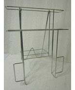 """Wire Literature Holder Countertop Brochure Display Stand, Full 8.5"""" Page... - $7.16"""