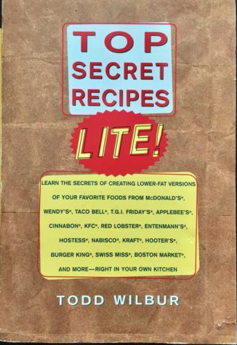 Top Secret Recipes More and Top Secret Recipes Lite Todd Wilbur 2 Paperbacks  image 2