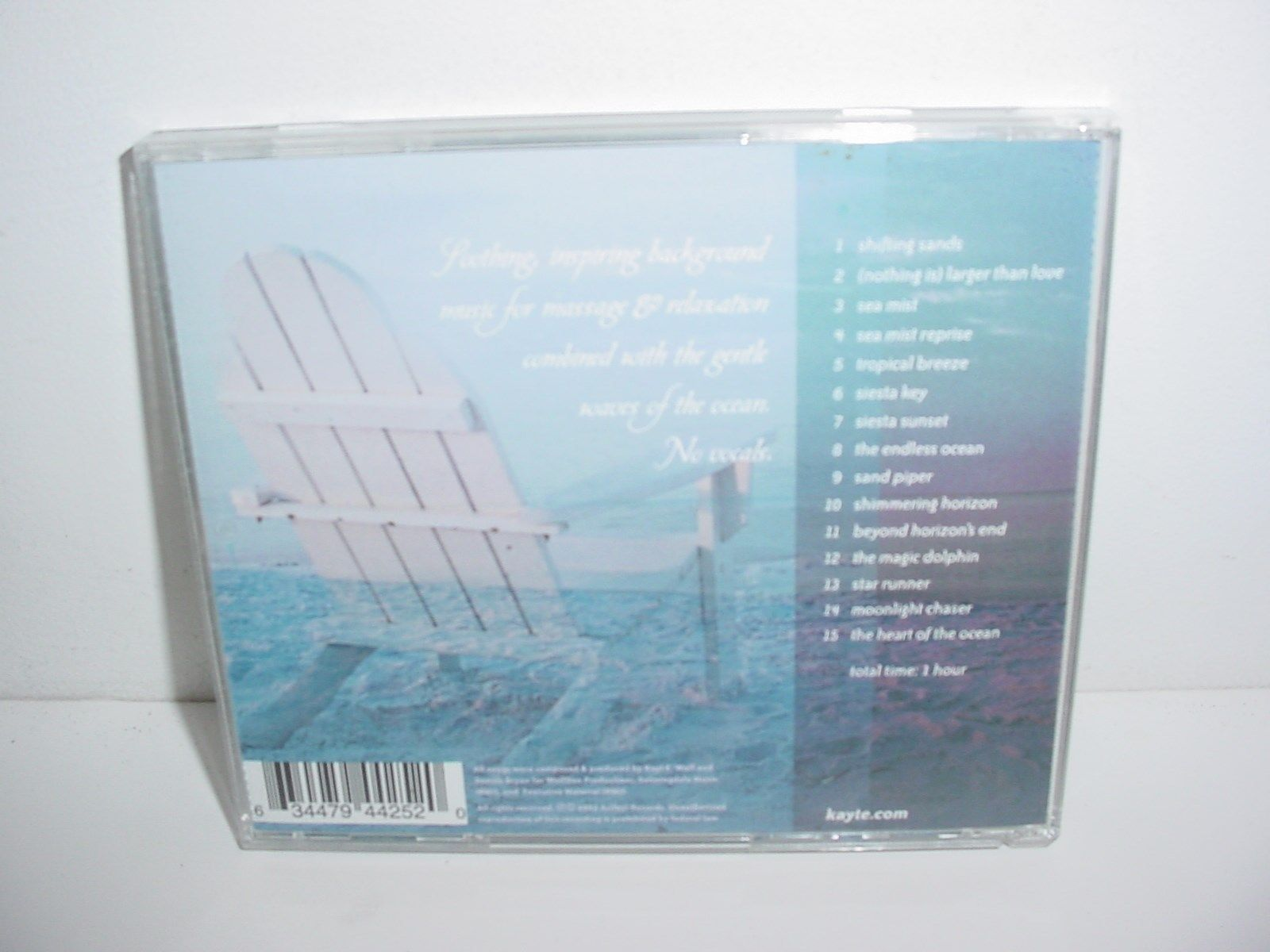 Heart of the Ocean by Strong & Bryon CD Music
