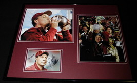 Jimbo Fisher Signed Framed 16x20 Florida State Photo Display National Ch... - $140.24