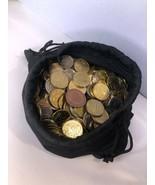 Mixed Bulk of 200+ International World Assorted Coins - $20.00