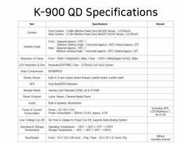Lukas K-900 QD 2Ch QHD/FHD 3.5In 32Gb ADAS 3.0 GPS Sony Exmor R STARVIS / FedEx image 4