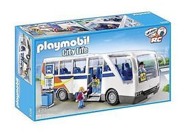 Playmobil 5106 City Life City Bus W People New Sealed - $177.65