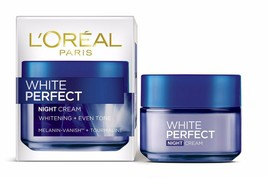 L'Oreal White Perfect Fairness Revealing Soothing Night Cream 50 GM - $21.51