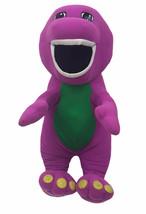 "Vintage 1992 Playskool TALKING BARNEY 18"" Plush Dinosaur #71245 Lyons Gr... - $24.74"