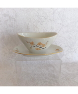 Bareuther Waldsassen Gravy Boat with Plate Bavaria Pattern Fine China (G... - $29.99