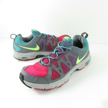 Nike Alford 10 Women's Trail Running Shoes Size 10 Pink Gray Blue 512038... - $35.99