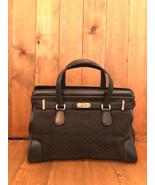 Authentic Vintage GUCCI Black GG Monogram Jacquard Tote Bag - $245.00