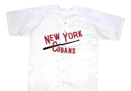 Roberto Alomar New York Cubans Baseball Jersey Button Down White Any Size image 3