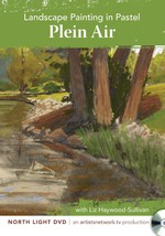 Landscape Painting in Pastel - Plein Air with Liz Haywood-Sullivan DVD  - $21.79