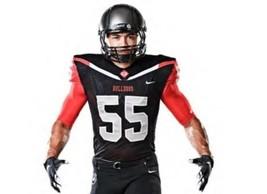 Georgia Bulldogs Nike Football Jersey Men's Large Pro-Cut Black - €34,00 EUR