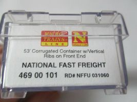 Micro-Trains #46900101 National Fast Freight 53' Corrugated Container N-Scale image 3