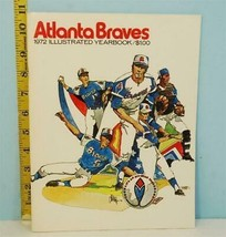 1972 Atlanta Braves Illustrated Yearbook Hank Aaron Countdown to 714 - $19.31