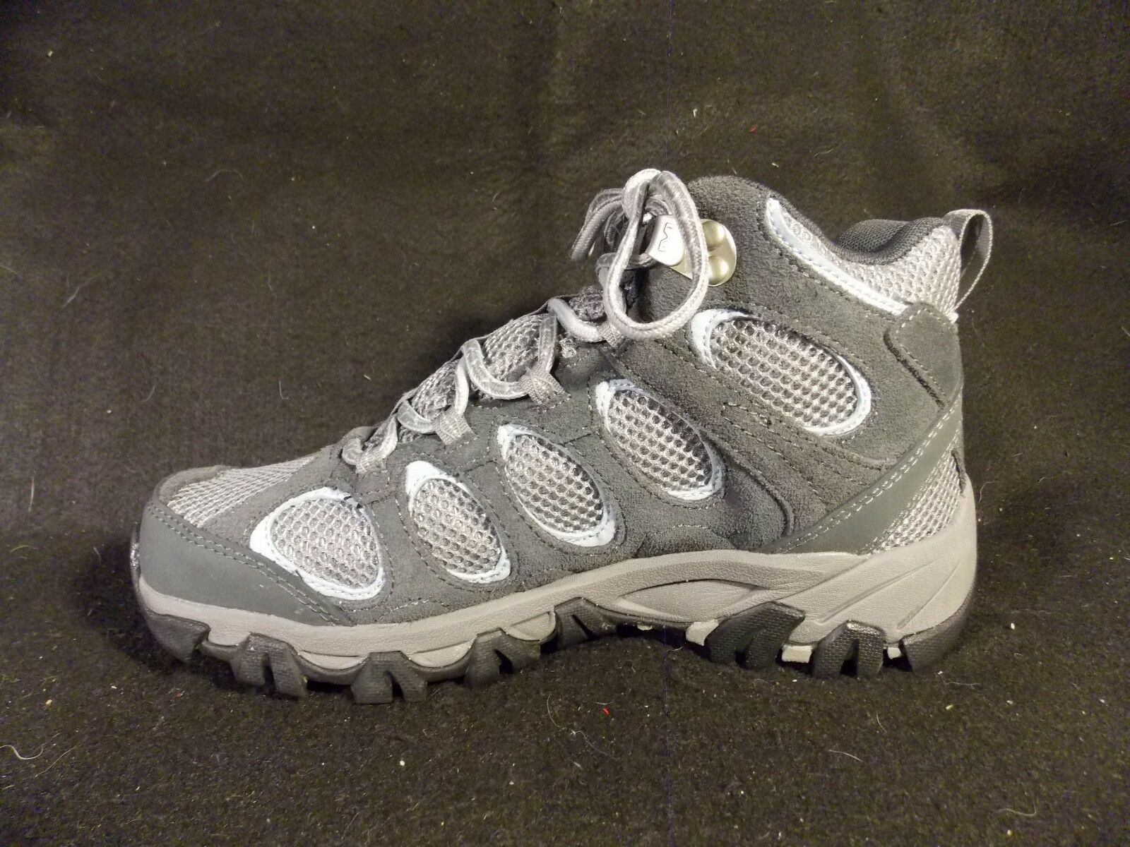 Women's Merrell Hilltop Vent Waterproof Castle Rock Gray Hiking Shoes Size 6 image 5